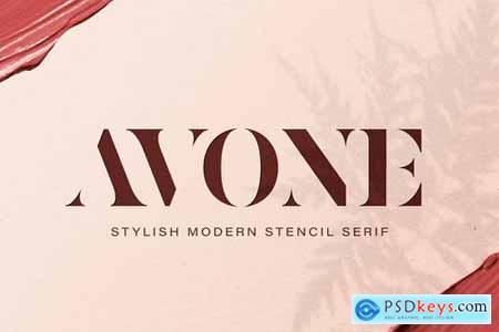 AVONE - Stylish Serif