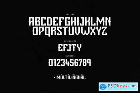 Blight Typeface 5261133