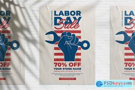 US Labor Day Sale Flyer