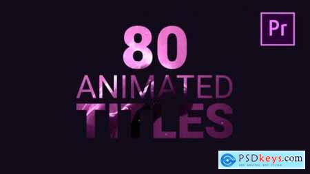 80 Animated Titles 21877196