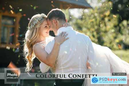 64 Colorful Confetti Overlays 5031612