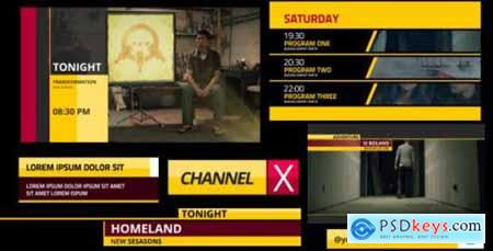 Channel X Broadcast Package 5999153