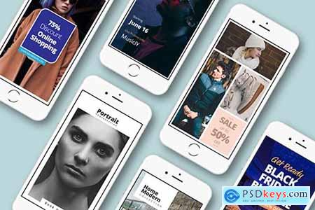 Instagram Stories Fashion & Shopping Pack