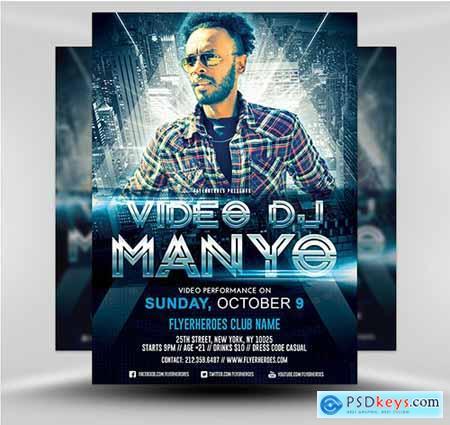 Video DJ Flyer 4