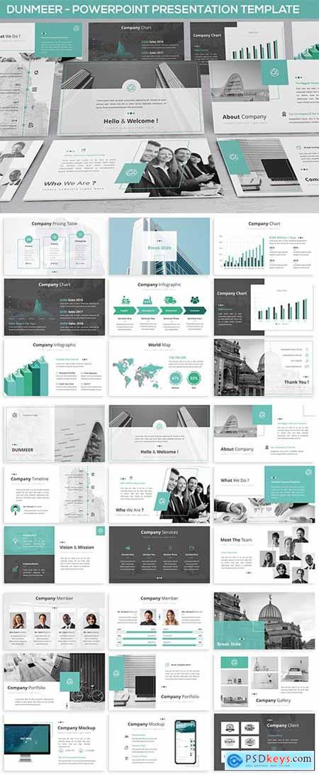 Dunmeer - Powerpoint Presentation Template