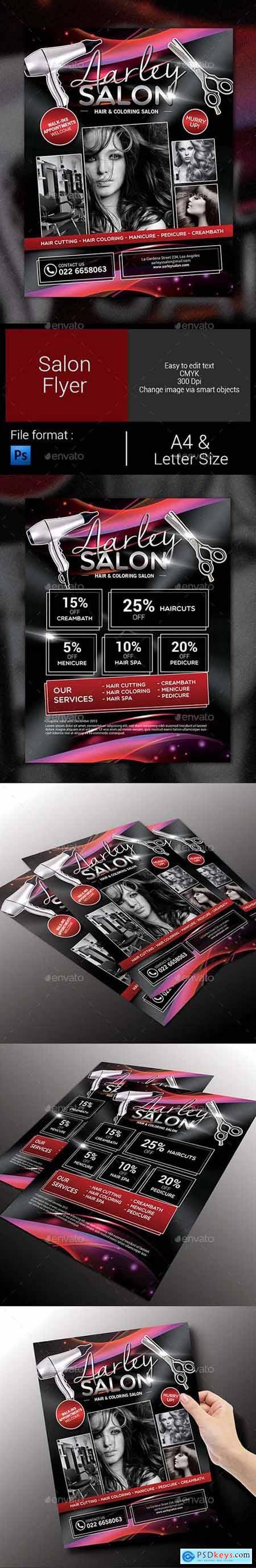 Salon Flyer 9706404
