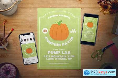 Pumpkin Patch Flyer Set