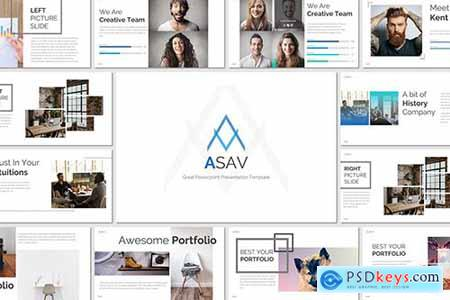 ASAV - Powerpoint Template