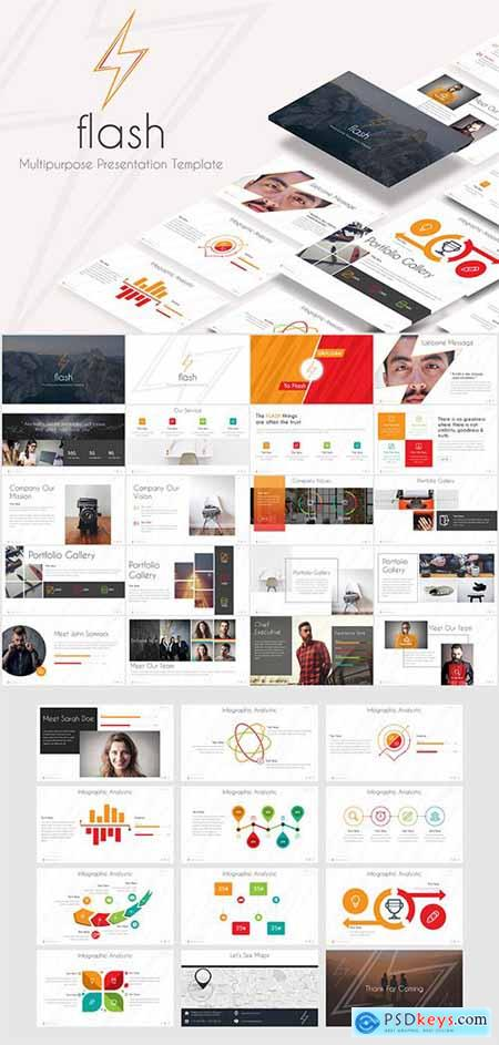 Flash - Powerpoint Template