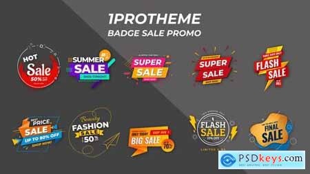Badges Sale Promo V15 28141957
