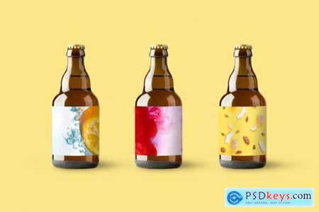 Bottle Mockups + Can Mockups 4560129