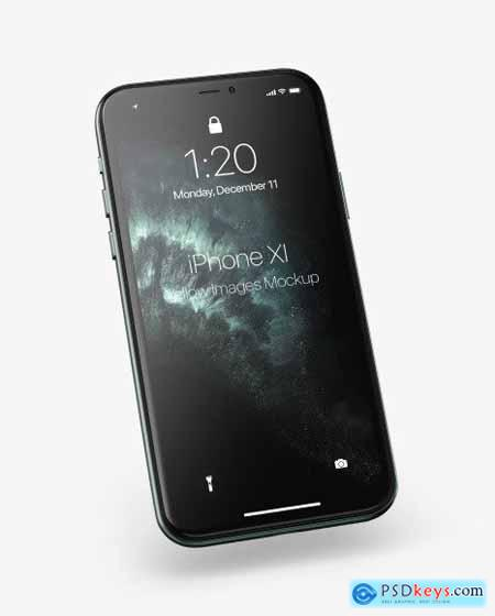 Apple iPhone 11 Pro Mockup 65374