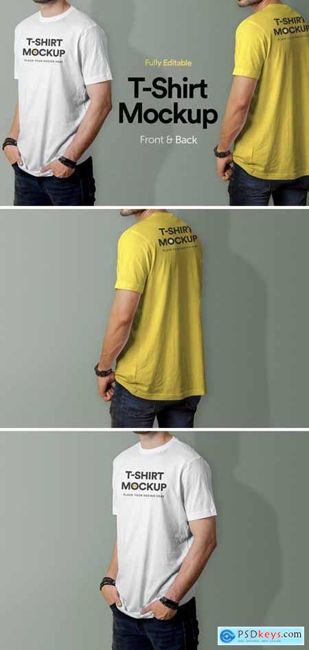 T-Shirt Mockup - Vol 02