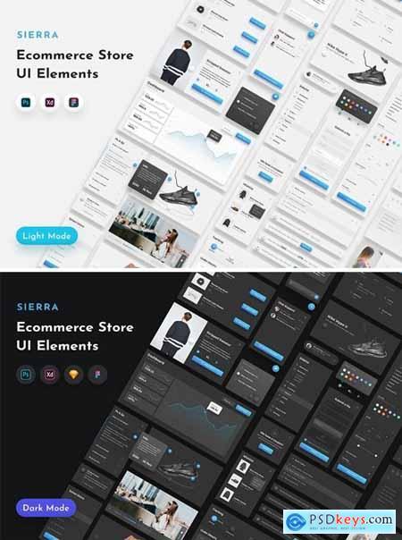Sierra E-Commerce UI Templates