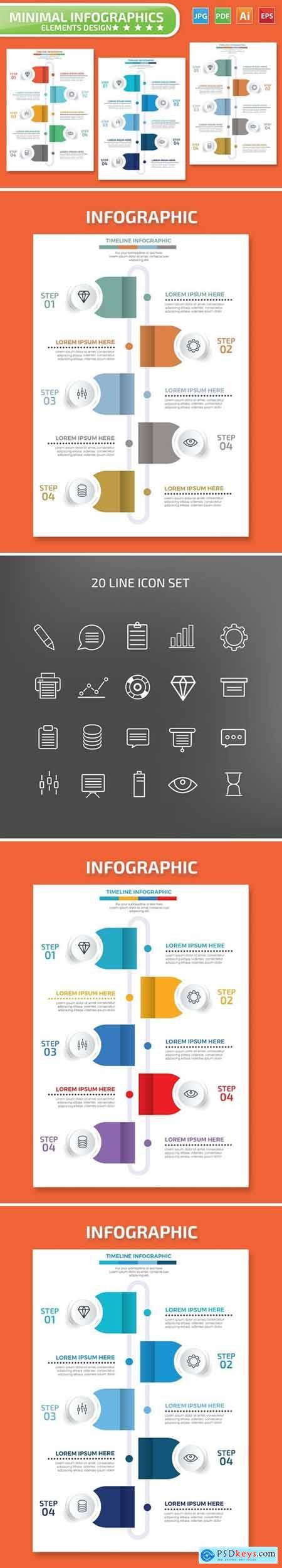 Timeline Infographics Design
