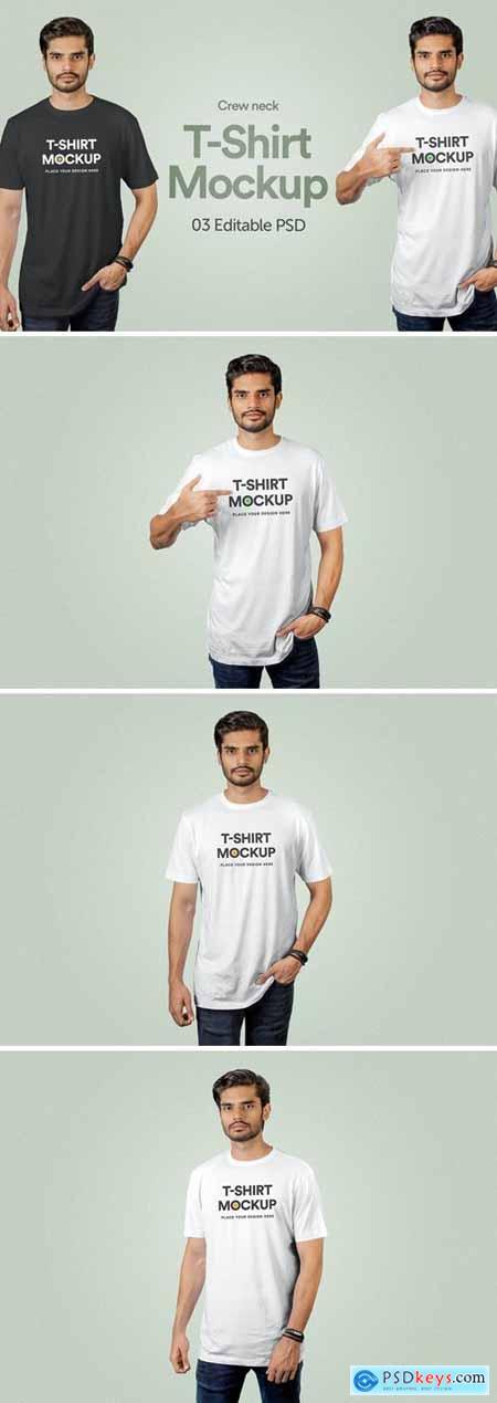 T-Shirt Mockup - Vol 01