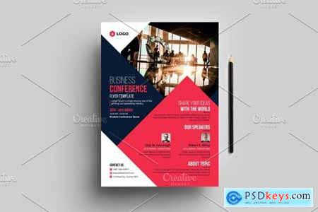 Business Conference Flyer Template 4576190