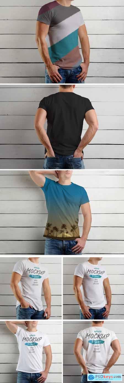 T-shirt Mockup Set 193494290