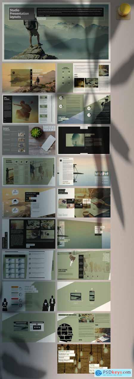 Clean Portfolio Presentation Layout 371495756
