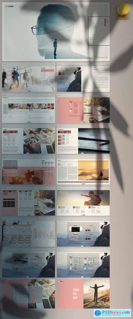 Smart Digital Business Plan Layout 371495782