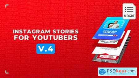 Instagram Stories For YouTubers v2 MOGRT 28117512