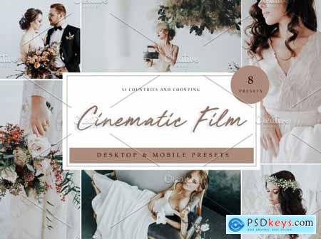 Lightroom Presets -- Cinematic Film 5039649