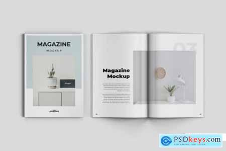 Creative magazine mockup