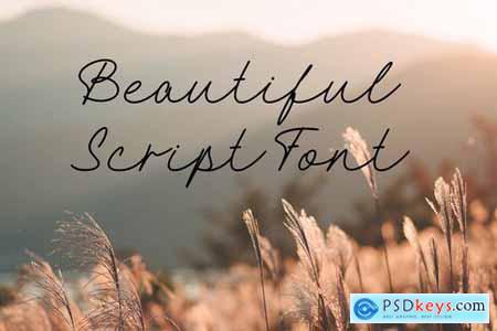 Hellena Script Font