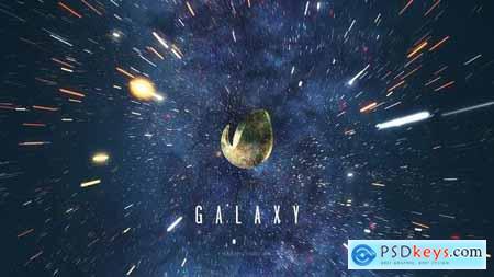 Galaxy Space Logo Reveal 26836535