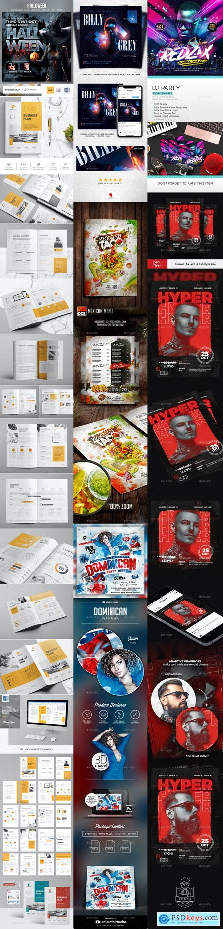 Flyer Templates Vip 17-AUG-2020 PREVIEW