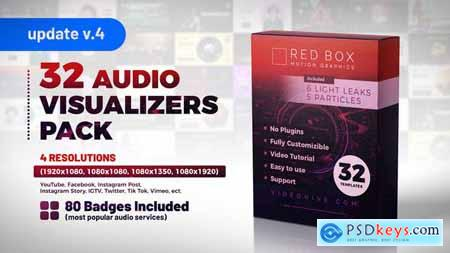 Audio Visualizers Pack V2 27144986