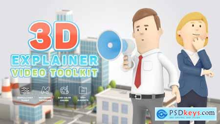 3D Characters Explainer Toolkit 26491556