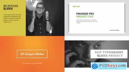 Typography Slides for Premiere Pro Essential Graphics 22500965