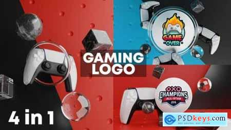 Gaming Logo Reveal 3D 27606557