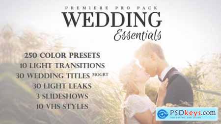 Wedding Essentials Pack for Premiere Pro 28150015