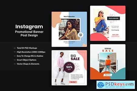 Promotional Instagram Post-Banner Design V-8