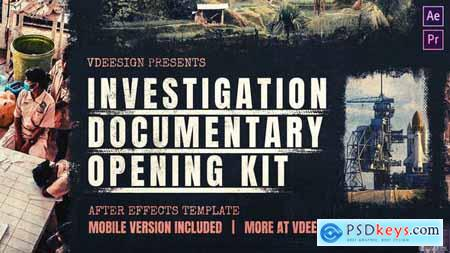 Investigation Documentary Opening Kit 24689958