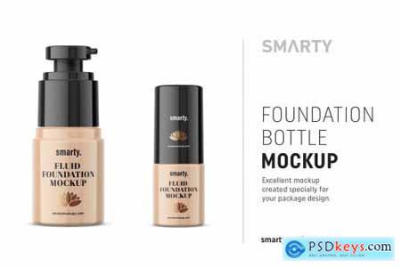 Foundation bottle mockup 4673615