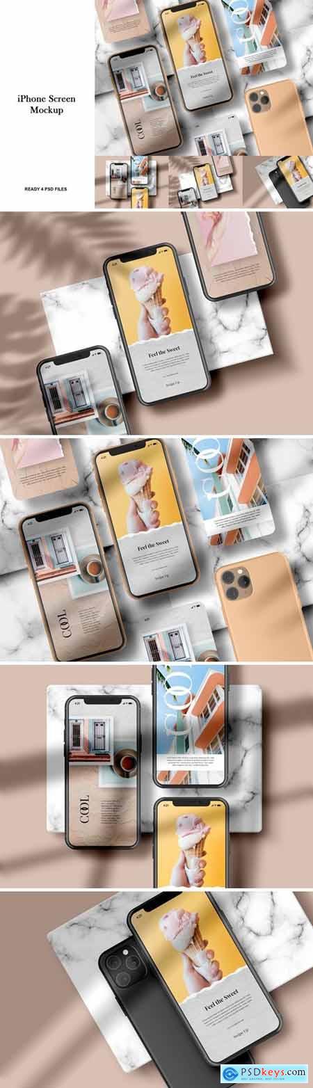 iPhone Screen - Mockup