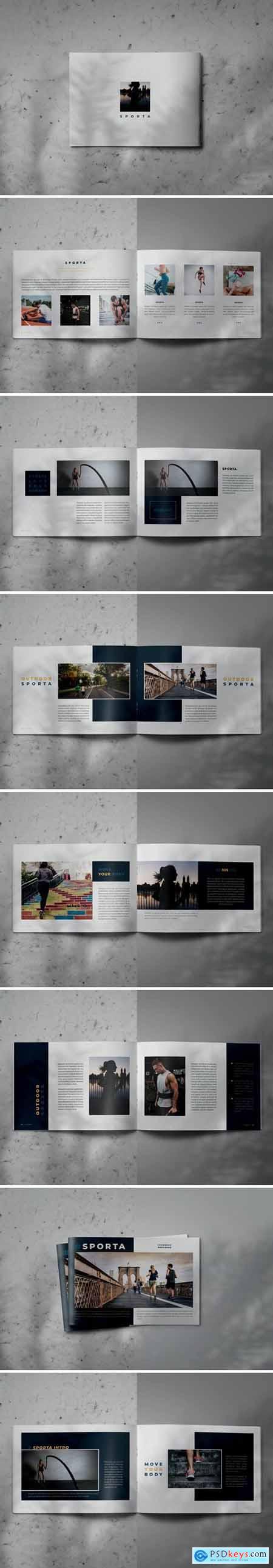 SPORTA - Indesign Lookbook Brochure Template
