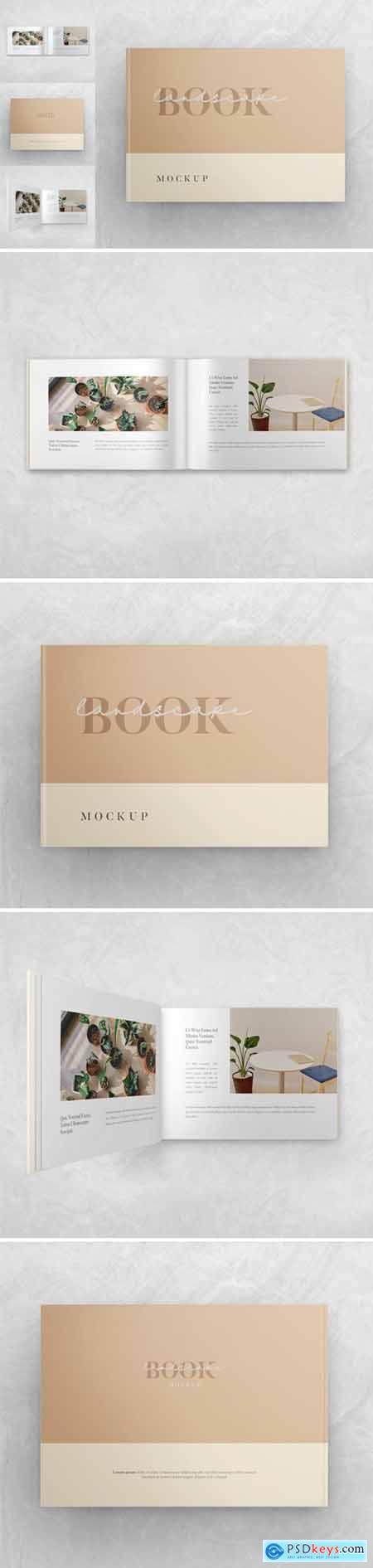 Landscape Book - Mockup Vol.2
