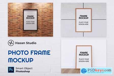Nuzie - Minimalist Frame Mockup