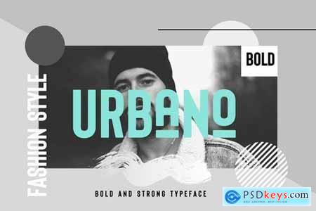 URBANO Bold header Typeface