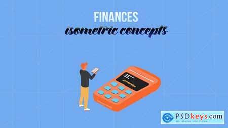 Finances - Isometric Concept 28231983