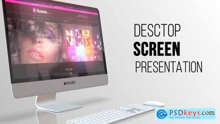 Desktop Screen Presentation 21647352