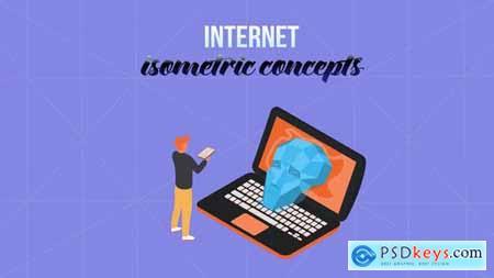 Internet - Isometric Concept 28232000