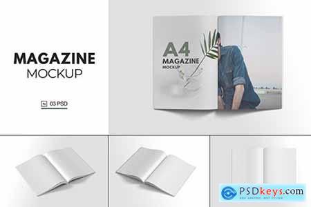 Magazine Mockup V.9