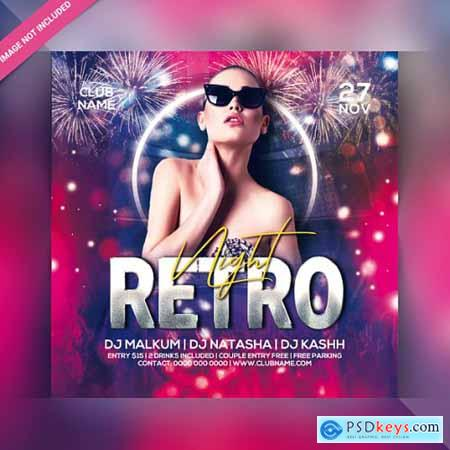 Club night party flyer template 7