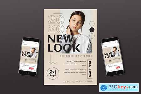 Fashion Sale Flyer Pack
