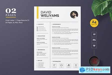 Creative Resume - CV Template